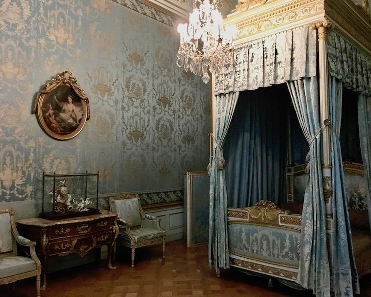 Schloss Wilhelmsthal Calden Schlafgemach von Jerome Bonaparte