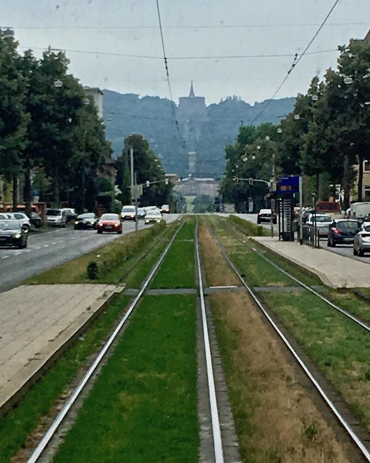 Straßenbahn Kassel Wilhelmshöhe