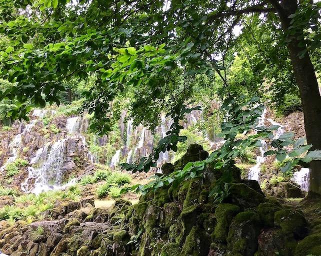 Wasserspiele Bergpark Wilhelmshöhe Steinhöfer Wasserfall