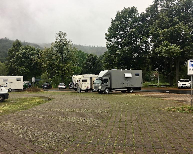 Wohnmobilstellplatz mole-on-tour Hann.Münden Deutschland