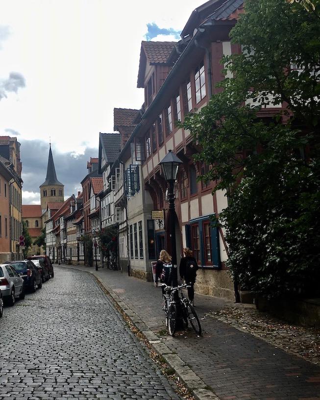 Altstadt Hildesheim St.Godehard Hildesheim Deutschland