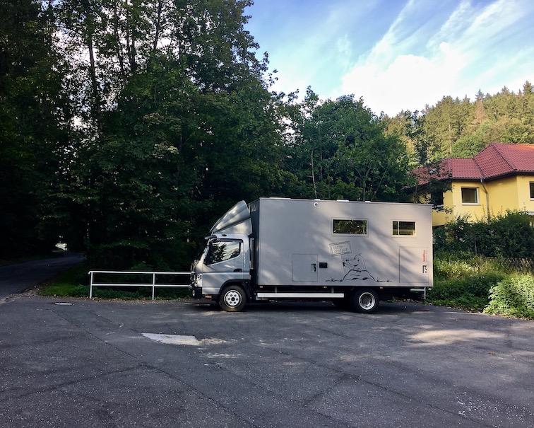 Bad Sachsa Wohnmobilstellplatz mit mole-on-tour