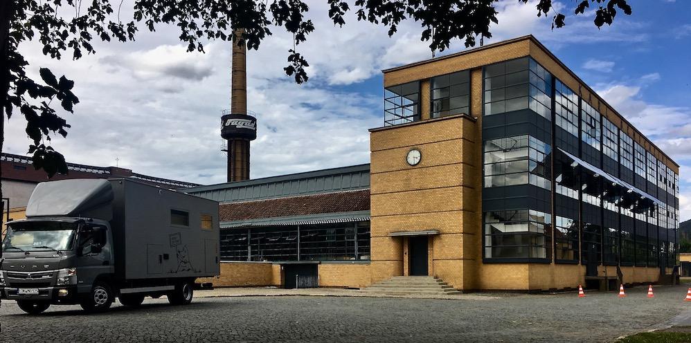 Fagus-Werk Alfeld (Leine) Weltkulturerbe Bauhaus Walter-Gropius mit mole-on-tour