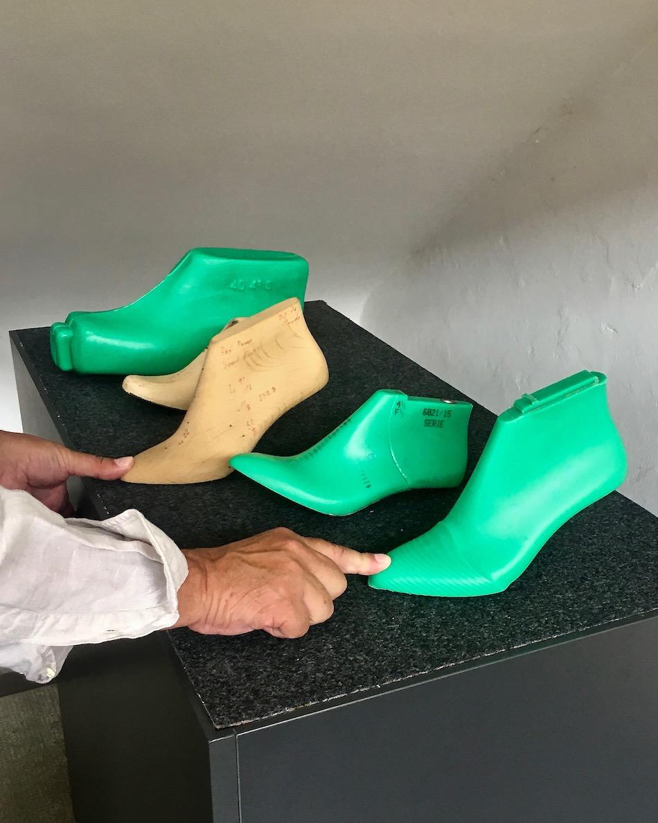 Fagus Werk Alfeld (Leine) Schuhleisten Heute-und-Früher
