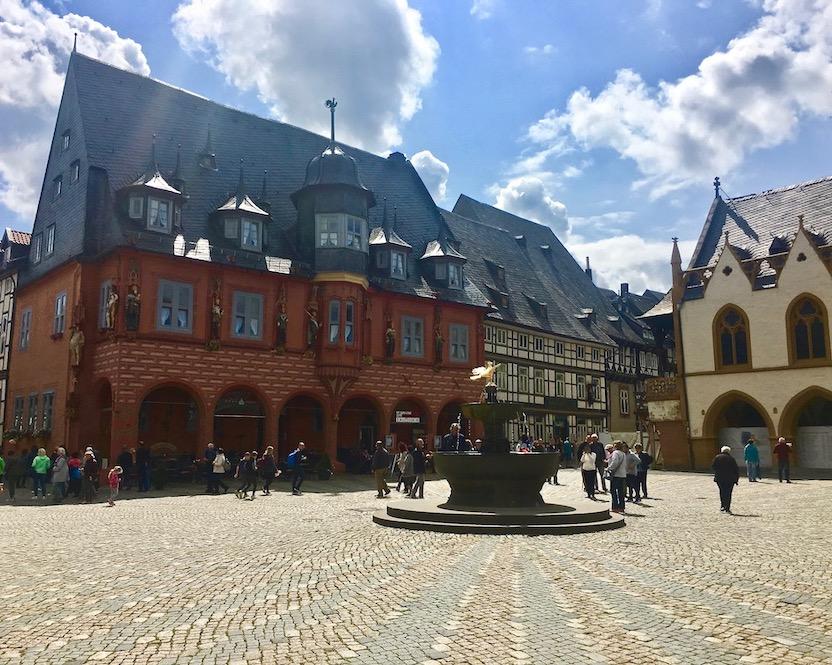 Gildehaus Kaiserworth Marktplatz Goslar Deutschland