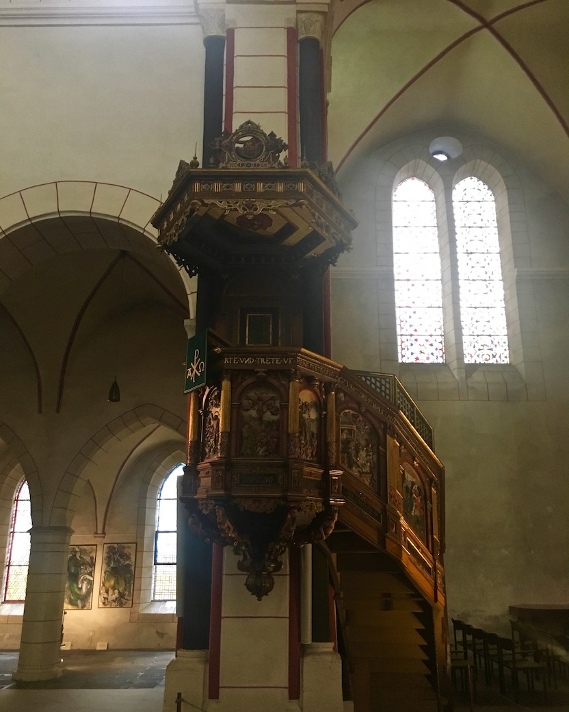 Goslar Marktkirche Renaissance Kanzel