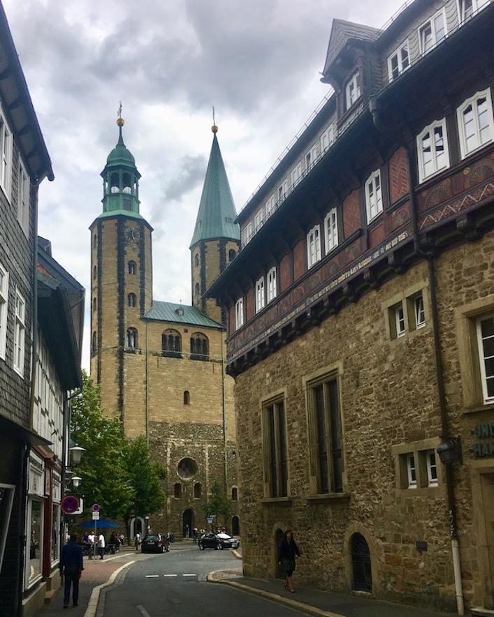 Goslar Marktkirche St.Cosmas und Damian Goslar Deutschland