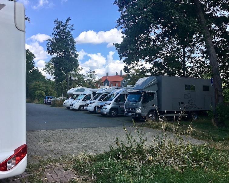 Goslar Wohnmobilstellplatz Füllekuhle mit mole-on-tour