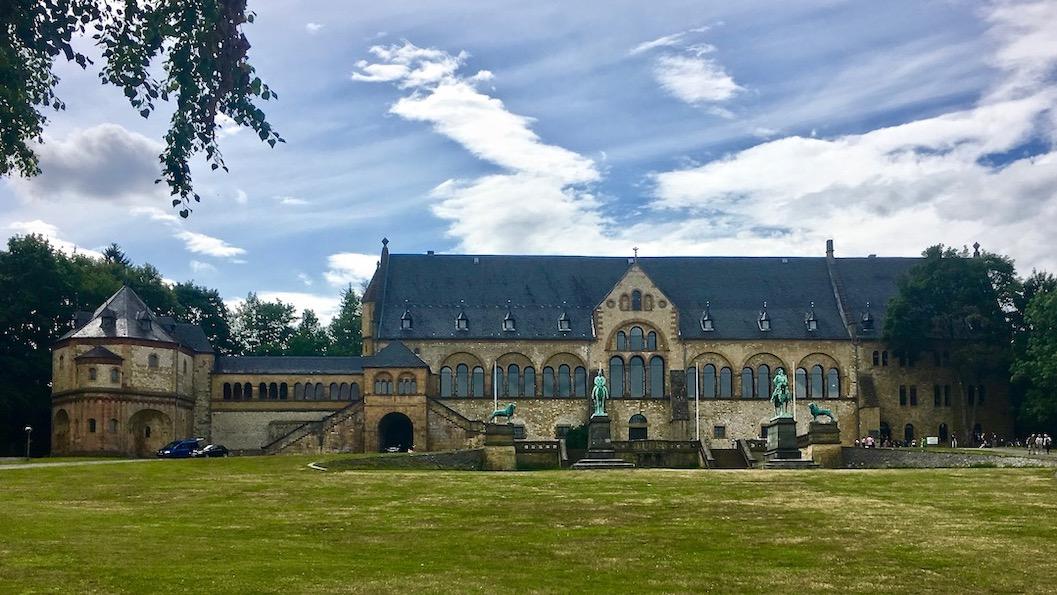 Kaiserpfalz Goslar Weltkulturerbe Goslar Deutschland