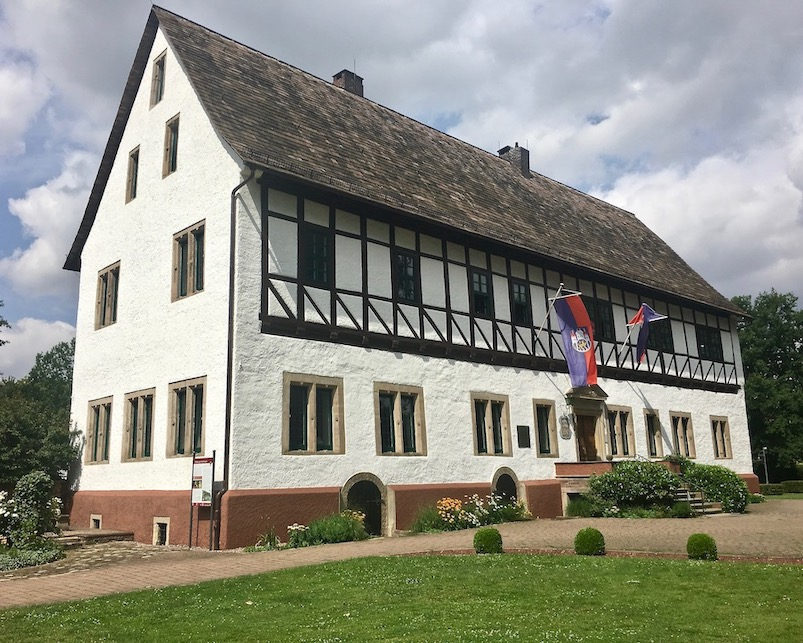 Münchhausen-Geburtshaus Bodenwerder Weser Deutschland