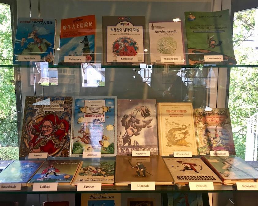 Münchhausen-Museum Büchersammlung Bodenwerder Deutschland