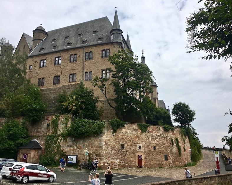 Marburg an der Lahn Landgrafenschloß-Marburg