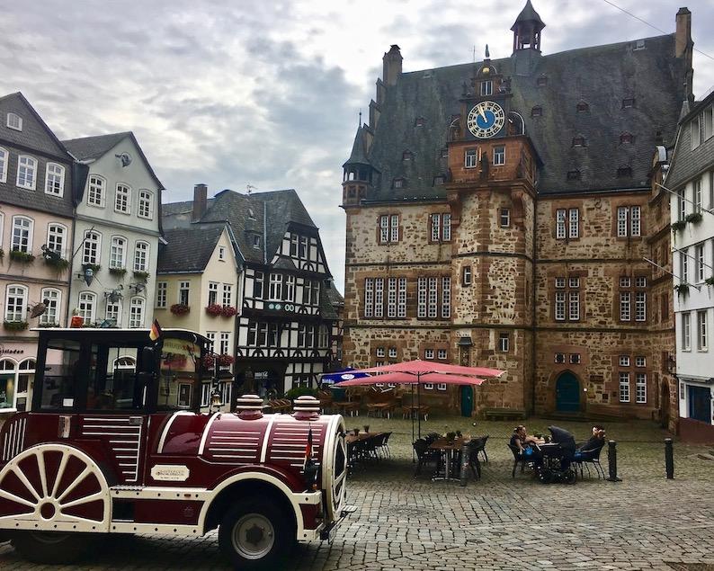 Marburg an der Lahn Rathaus am Marktplatz