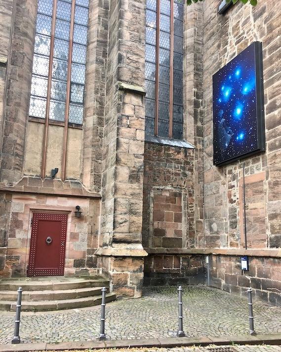 Marburg an der Lahn Sterntaler an der Evangelischen Universitätskirche