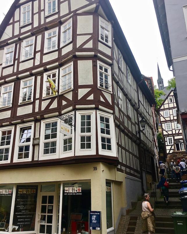Marburg an der Lahn Wohnhaus der Gebr.Grimm in der Oberstadt