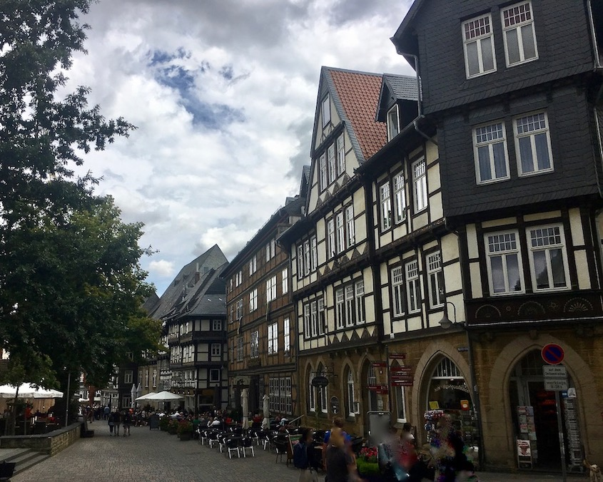 Marktkirchhof Goslar Deutschland