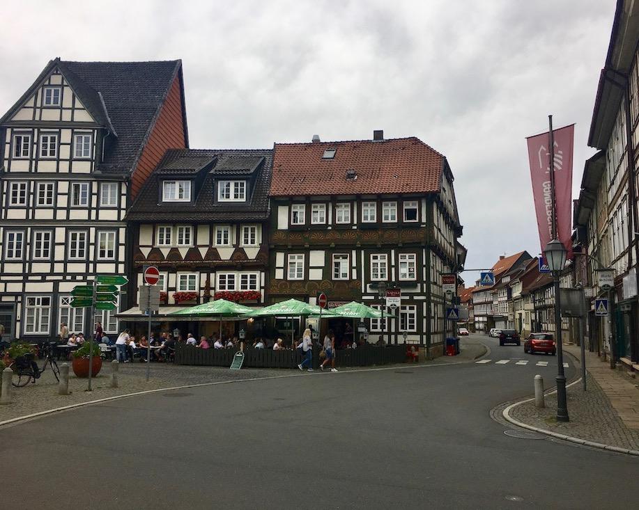 Marktplatz Bad Gandersheim Deutschland