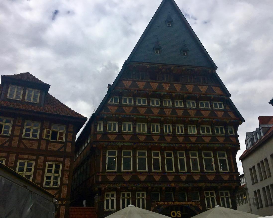 Marktplatz Hildesheim Knochenhauer-Amtshaus Hildesheim Deutschland