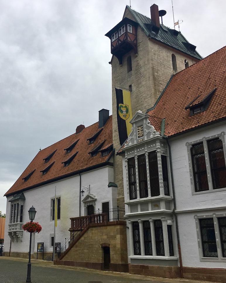 Marktplatz Rathaus Bad Gandersheim Deutschland