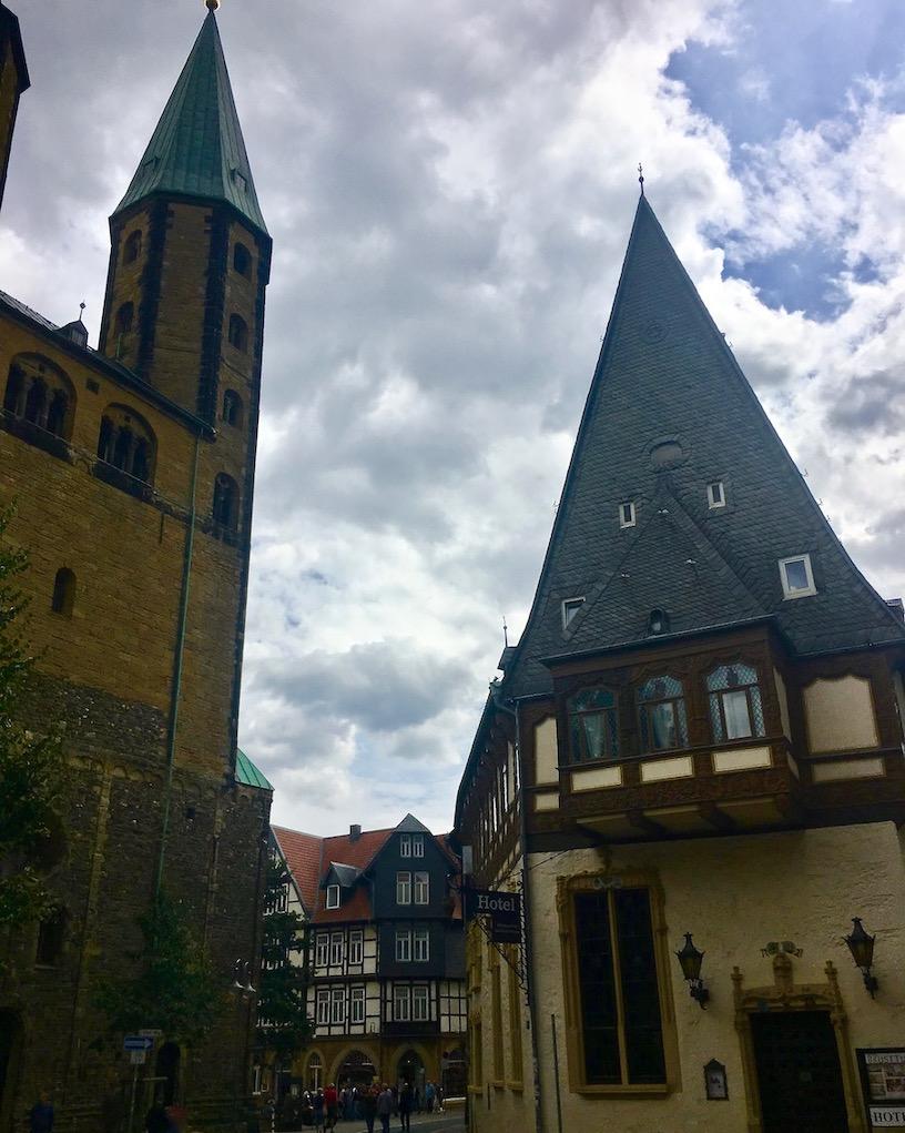 Patrizierhaus Brusttuch Goslar Deutschland
