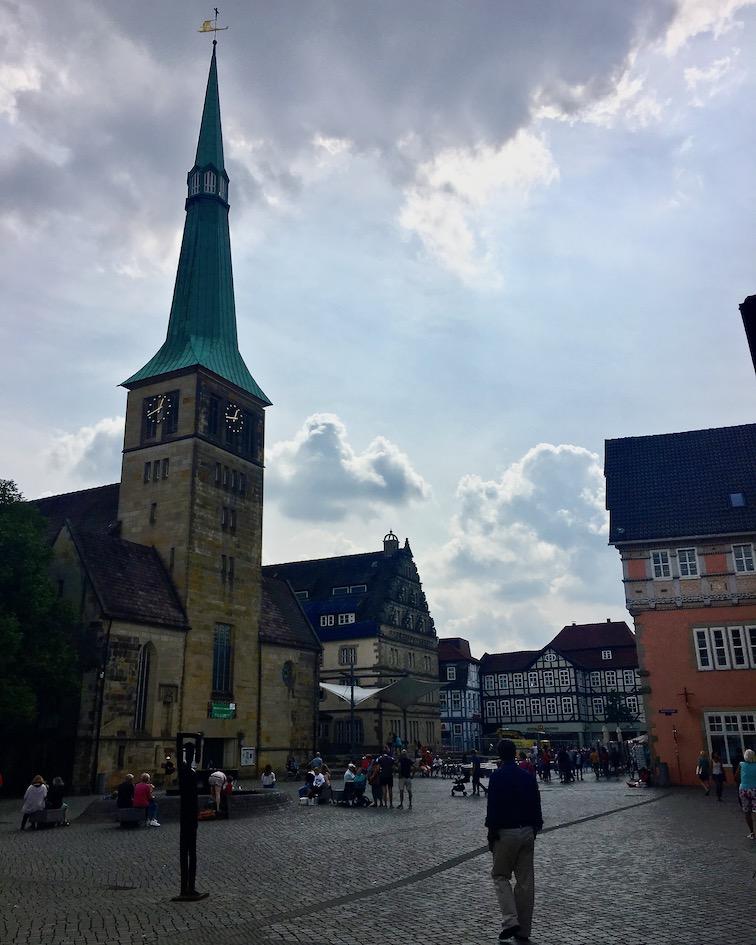 Rattenfängerstadt-Hameln Marktplatz