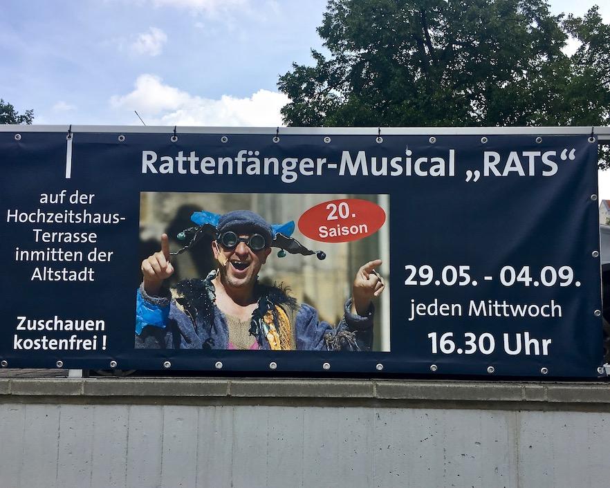 Rattenfängerstadt-Hameln Musical-Rats