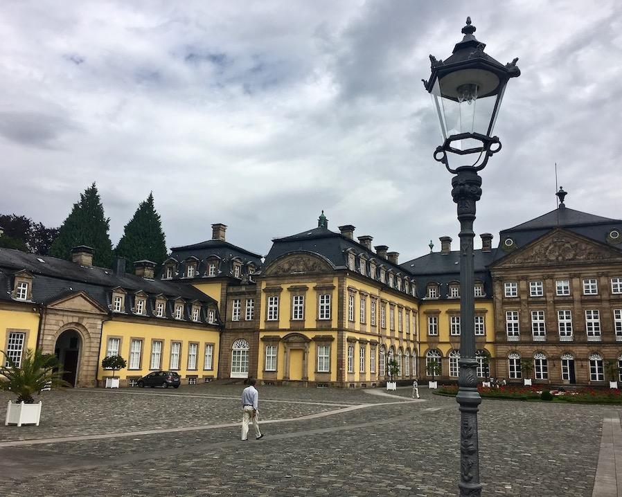 Residenzschloss Vorhof Bad Arolsen Deutschland
