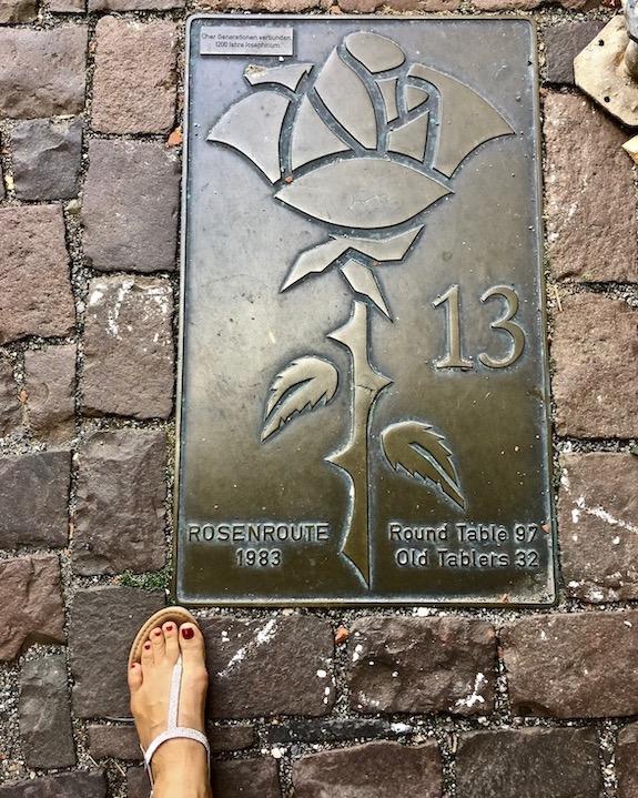 Rosenroute in Hildesheim Deutschland