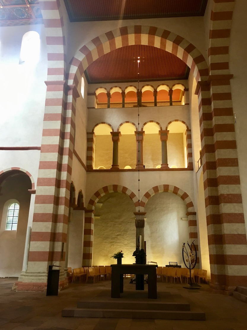 St.Michaelis Hildesheim Weltkulturerbe Emporenanlage Hildesheim Deutschland
