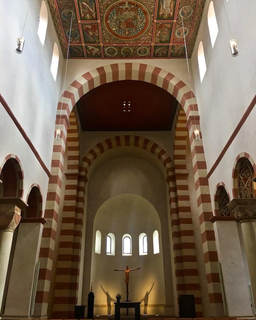 St.Michaelis Hildesheim Weltkulturerbe Innenraum Hildesheim Deutschland