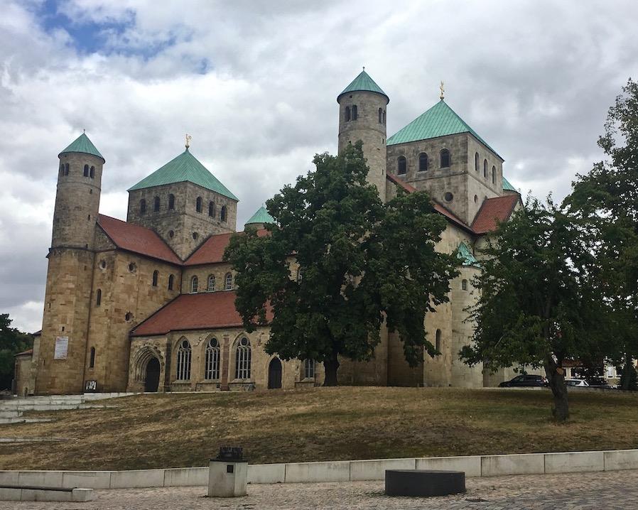 St.Michaelis Hildesheim Weltkulturerbe Südostseite Hildesheim Deutschland