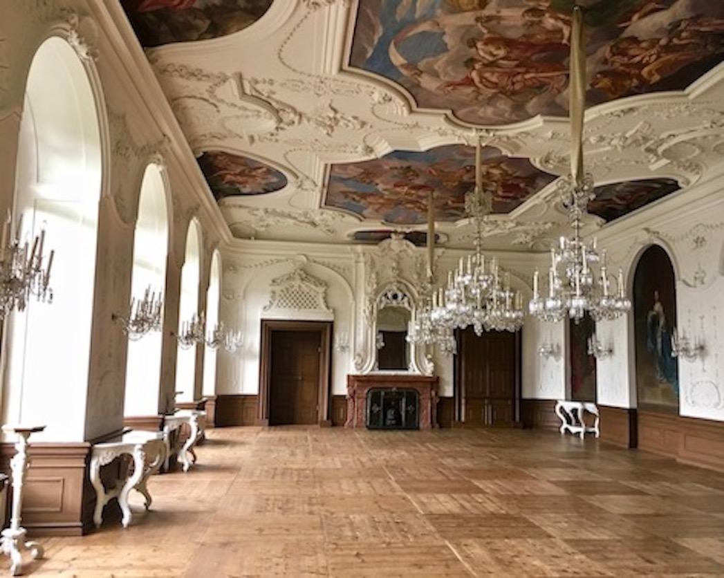 Steinerner-Saal Residenzschloss Bad Arolsen Deutschland