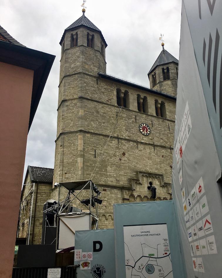 Stiftskirche St.Anastasius Westfasade Bad Gandersheim Deutschland
