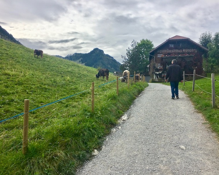 Alpen-Gasthaus-Kühberg am Karren Dornbirn Österreich