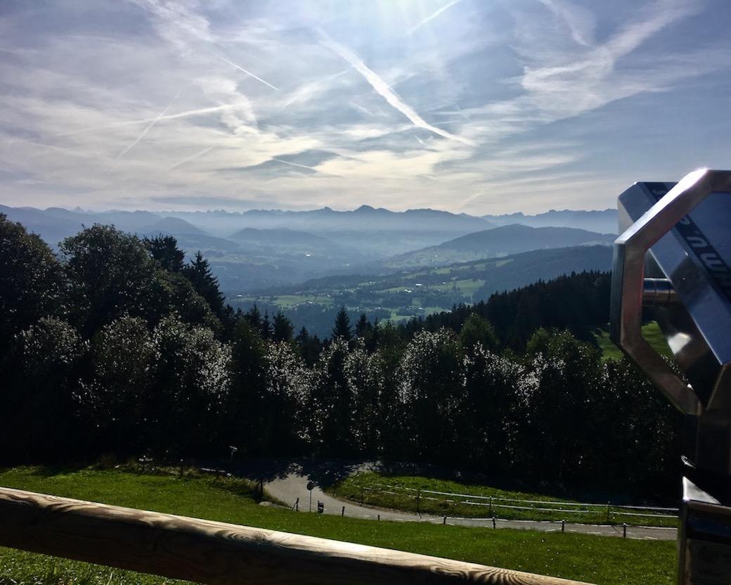 Alpenblick vom Pfänder Bregenz Bodensee