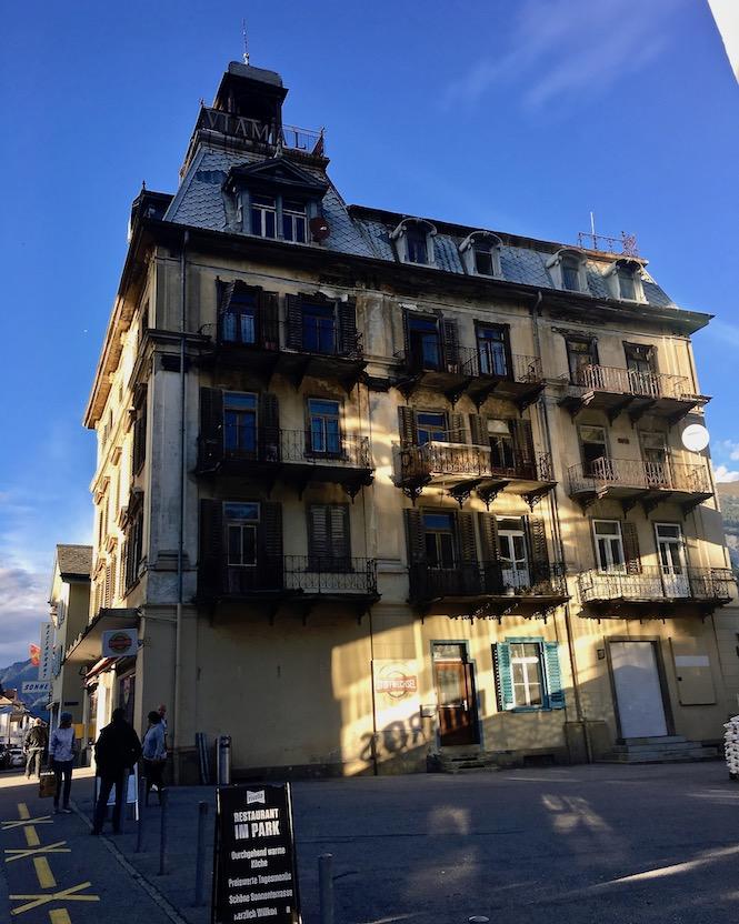 Altes Viamala-Hotel in Thusis Schweiz
