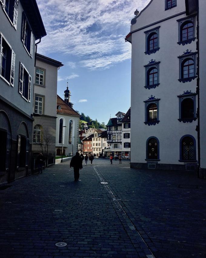 Altstadt St.Gallen Schweiz