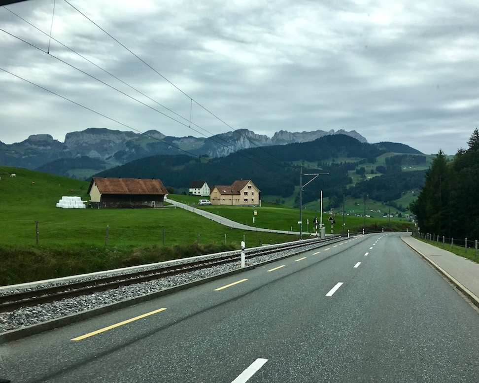 Appenzeller-Berge Schweiz