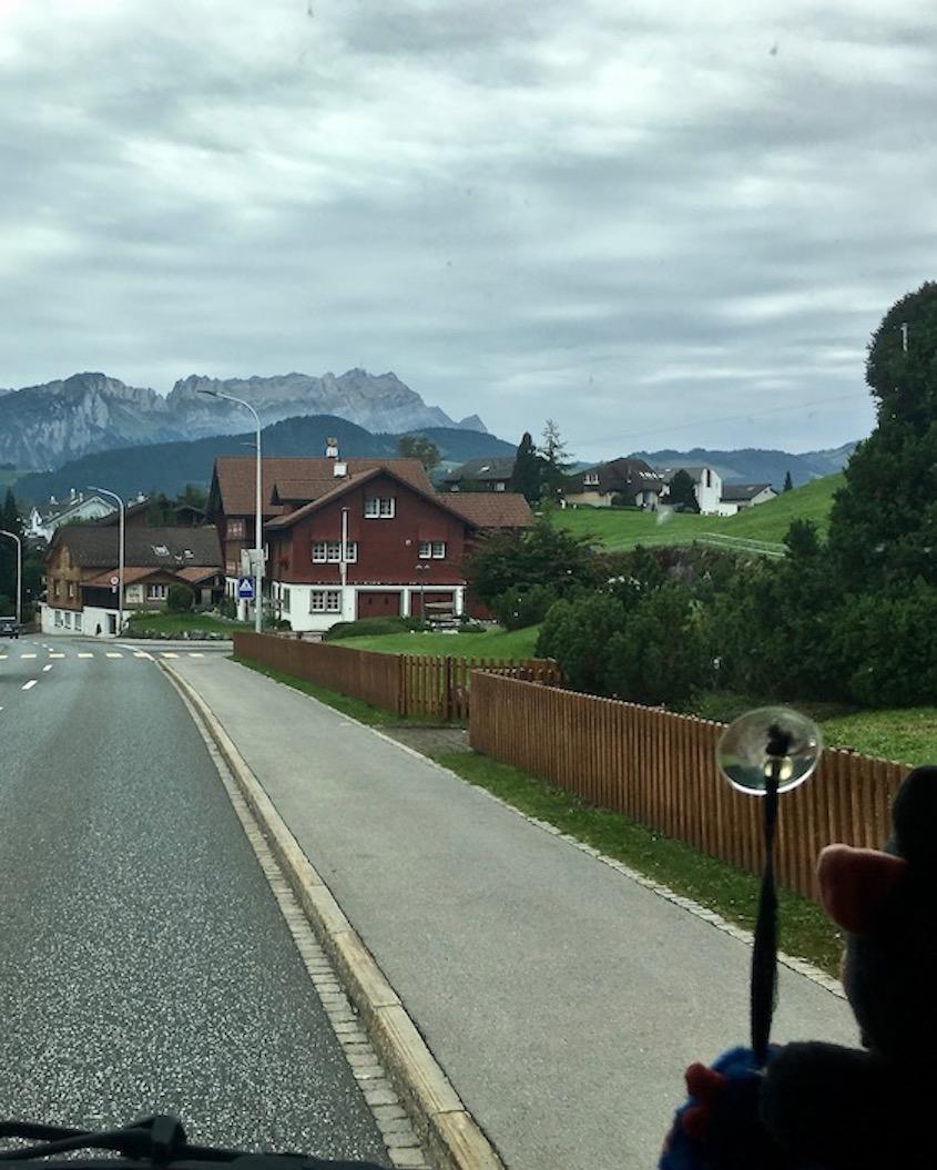 Appenzeller-Landschaft Schweiz
