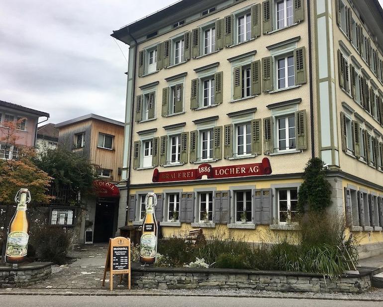 Brauerei Locher in Appenzell Schweiz