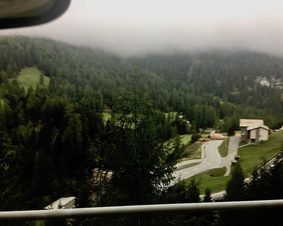 Julier Pass Schweiz Steil 1