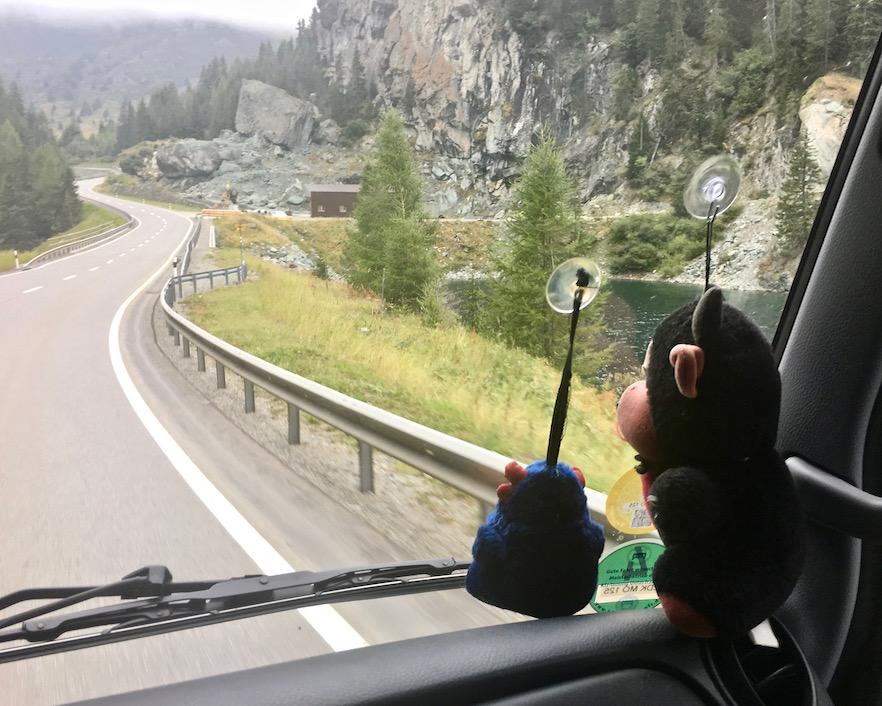 Julierpass Schweiz Steil