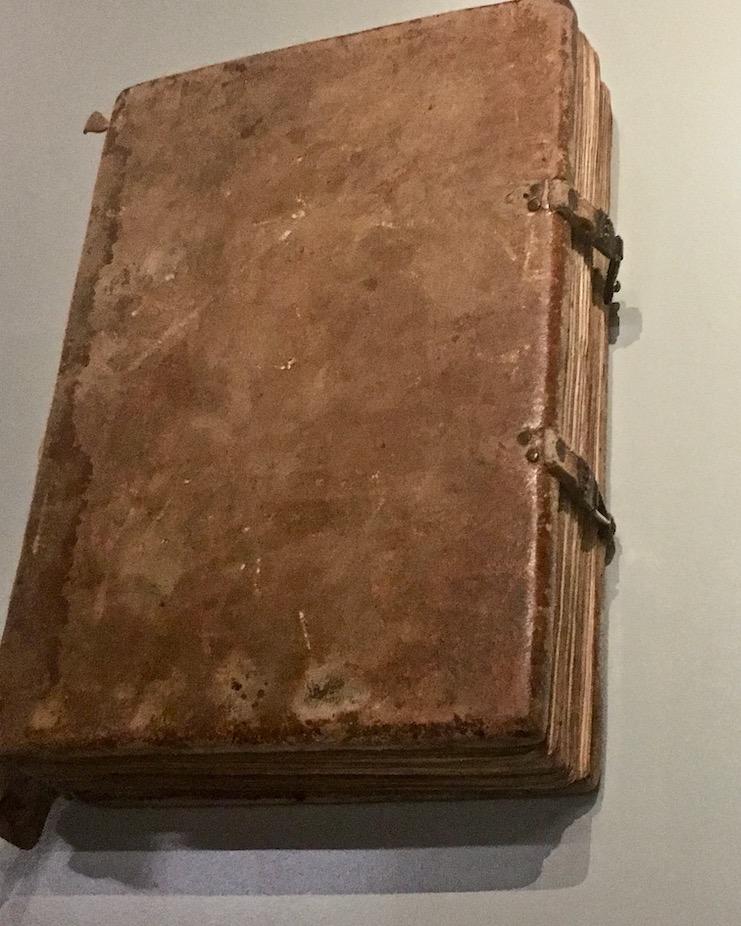Karolingischer Einband Stiftsbibliothek St.Gallen Schweiz