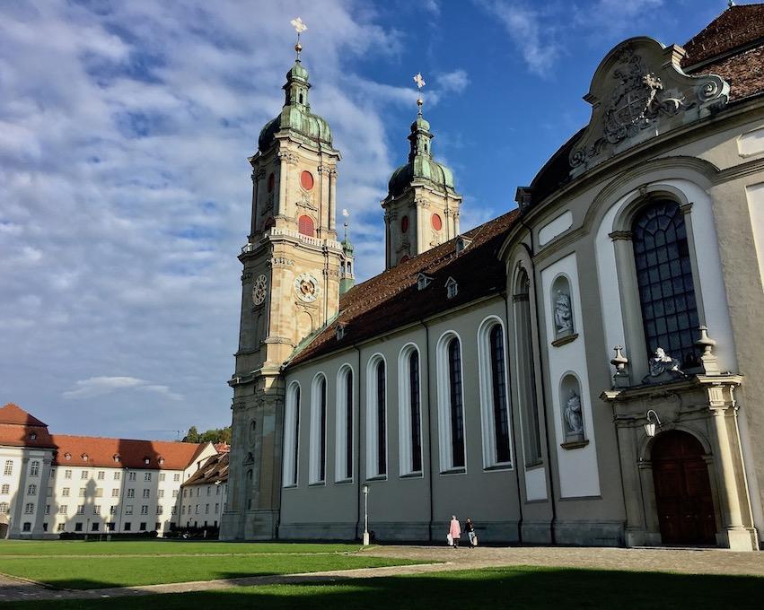 Kathedrale St.Gallen Schweiz Weltkulturerbe
