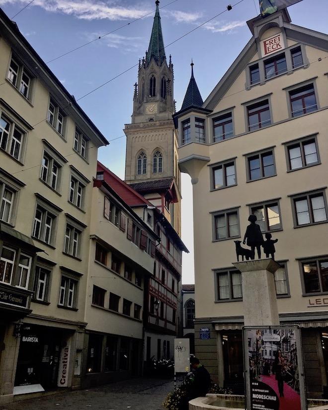 Kirche St.Laurenzen St.Gallen Schweiz