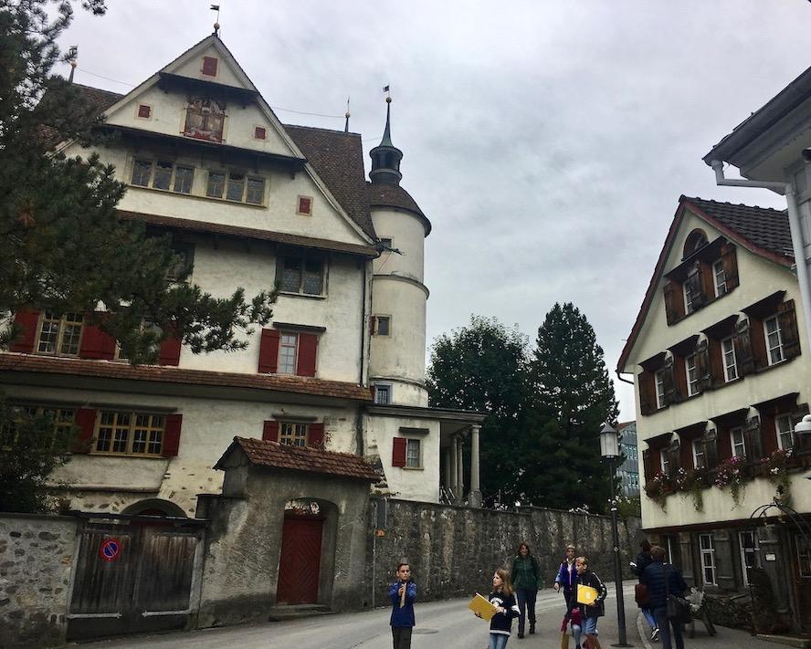 Schloss von Appenzell Schweiz