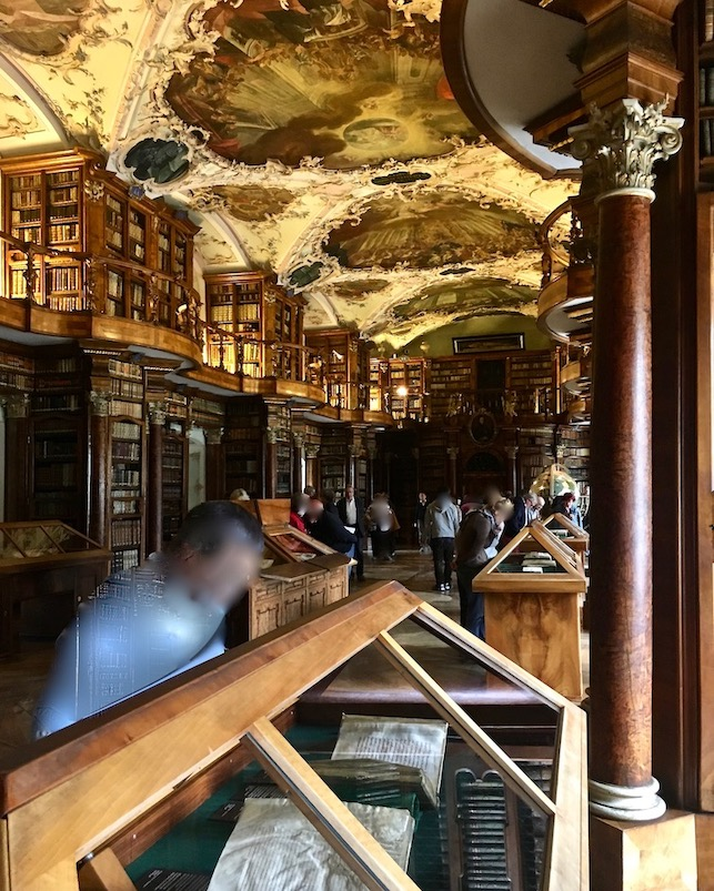 Stiftsbibliothek Barocksaal St.Gallen Schweiz Weltkulturerbe