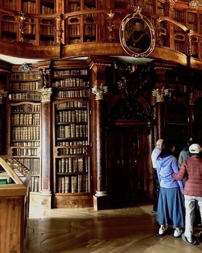 Stiftsbibliothek St.Gallen Weltkulturerbe Schweiz