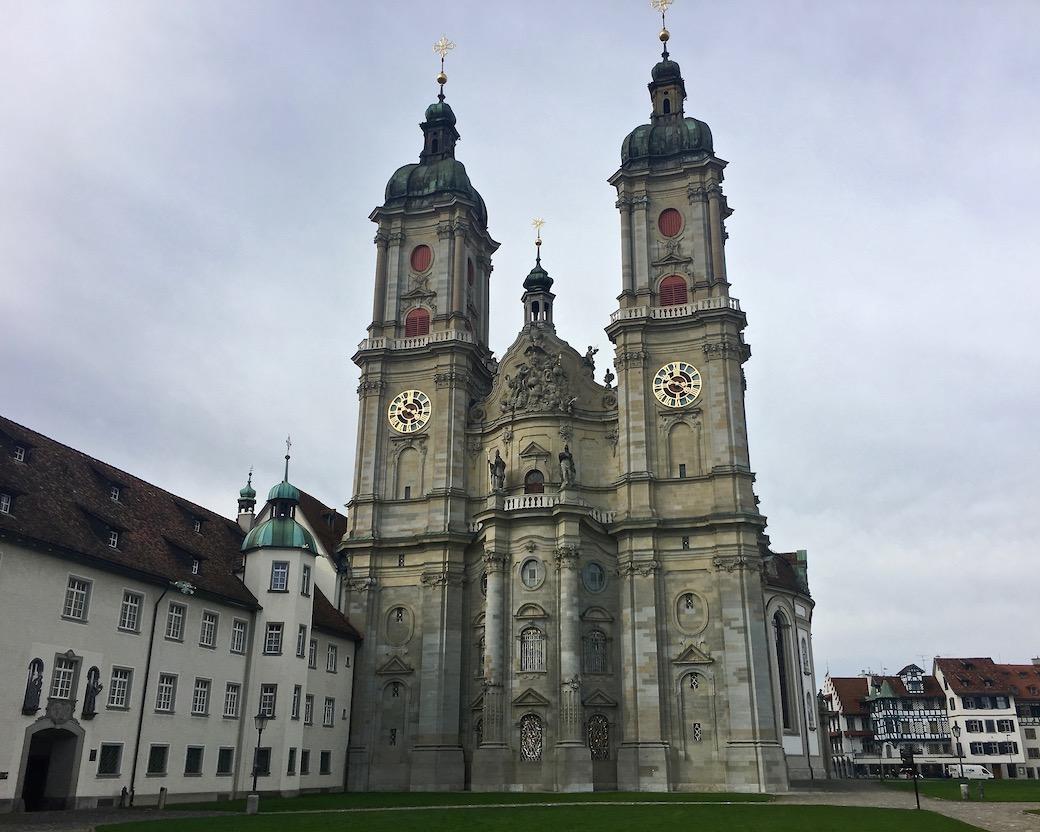 Stiftskirche St.Gallen Weltkulturerbe Ostfasade
