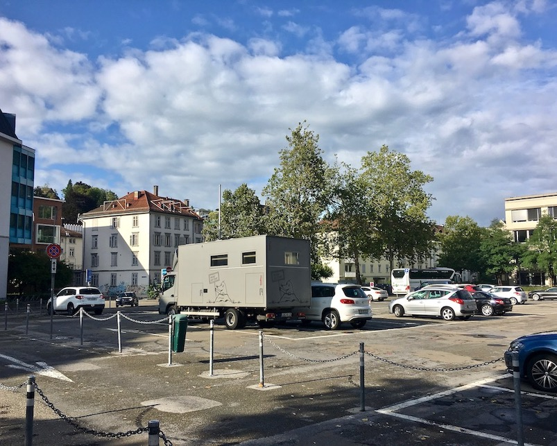 Wohnmobilstellplatz St.Gallen Schweiz mit mole-on-tour